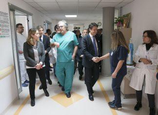Conte Grillo in ospedale Calabria
