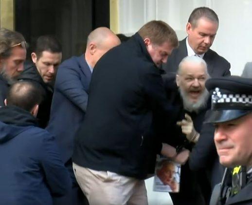 arresto di Julian Assange