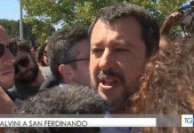 Salvini a San Ferdinando