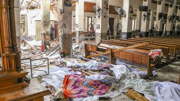 Il massacro in un santuario nello Sri Lanka