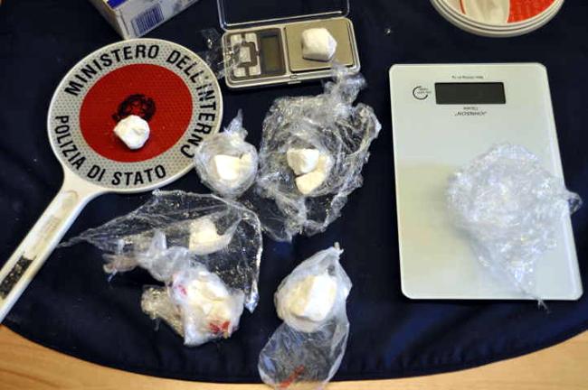 cocaina polizia
