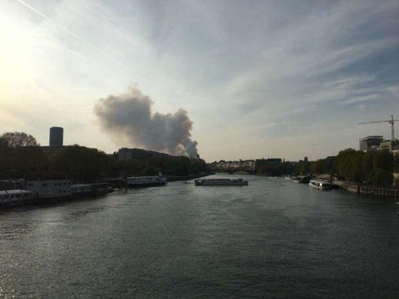 incendio Cattedrale di Notre-Dame de Paris
