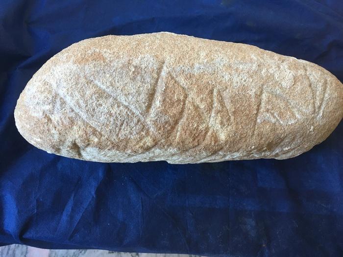 Trovata a Cortale iscrizione lapidea su granito locale risalente all'epoca magno-greca.