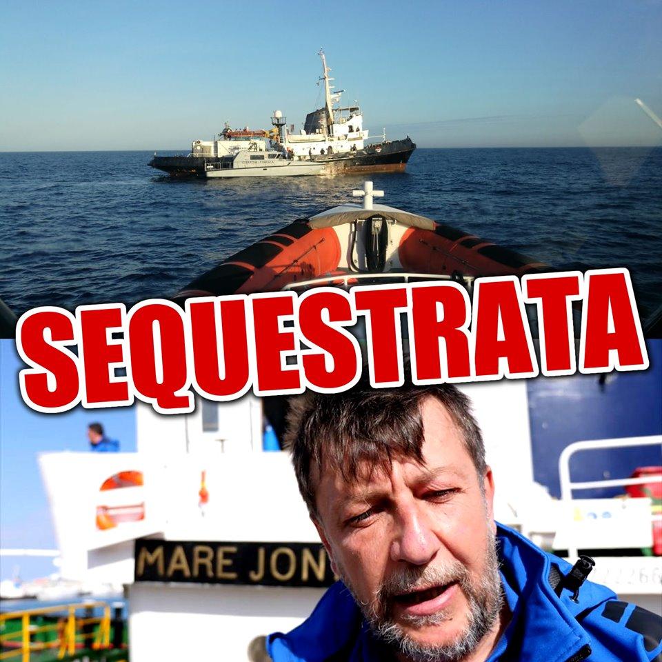 nave Mare Jonio sequestrata