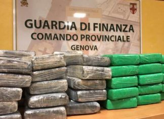 Cocaina sequestrata in porto a Genova