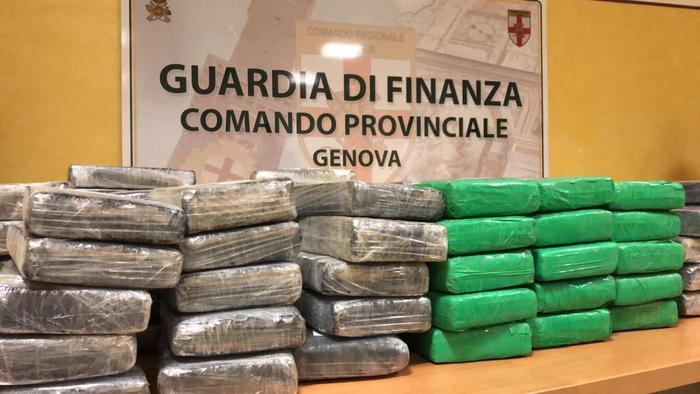 Sequestrati 538 kg di cocaina nel porto di Genova: Valore 200 milioni