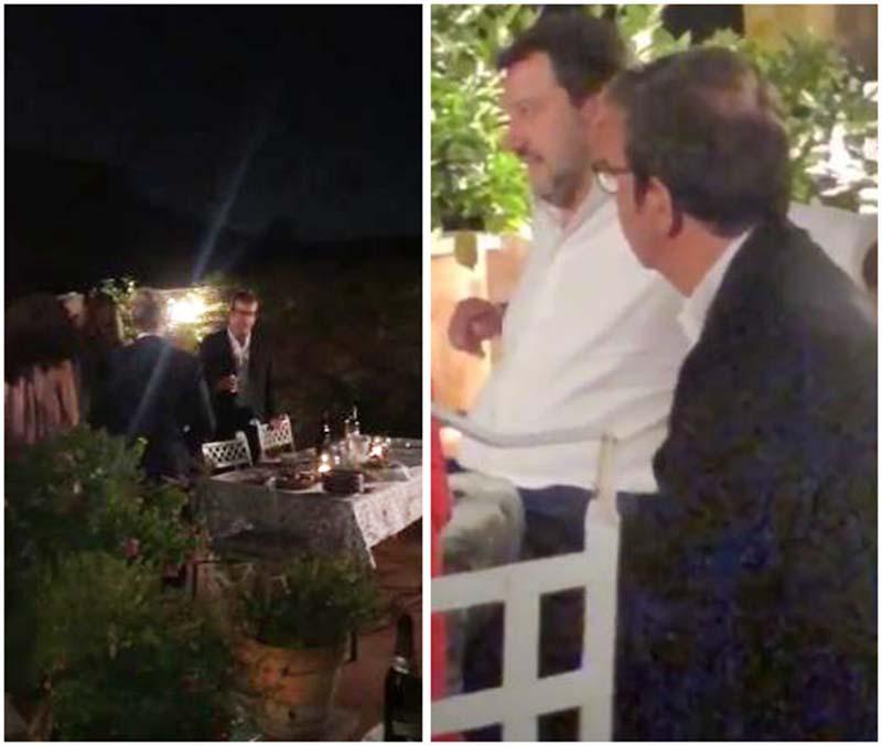 Salvini a Cosenza martedì 24. Cena con Occhiuto a Roma