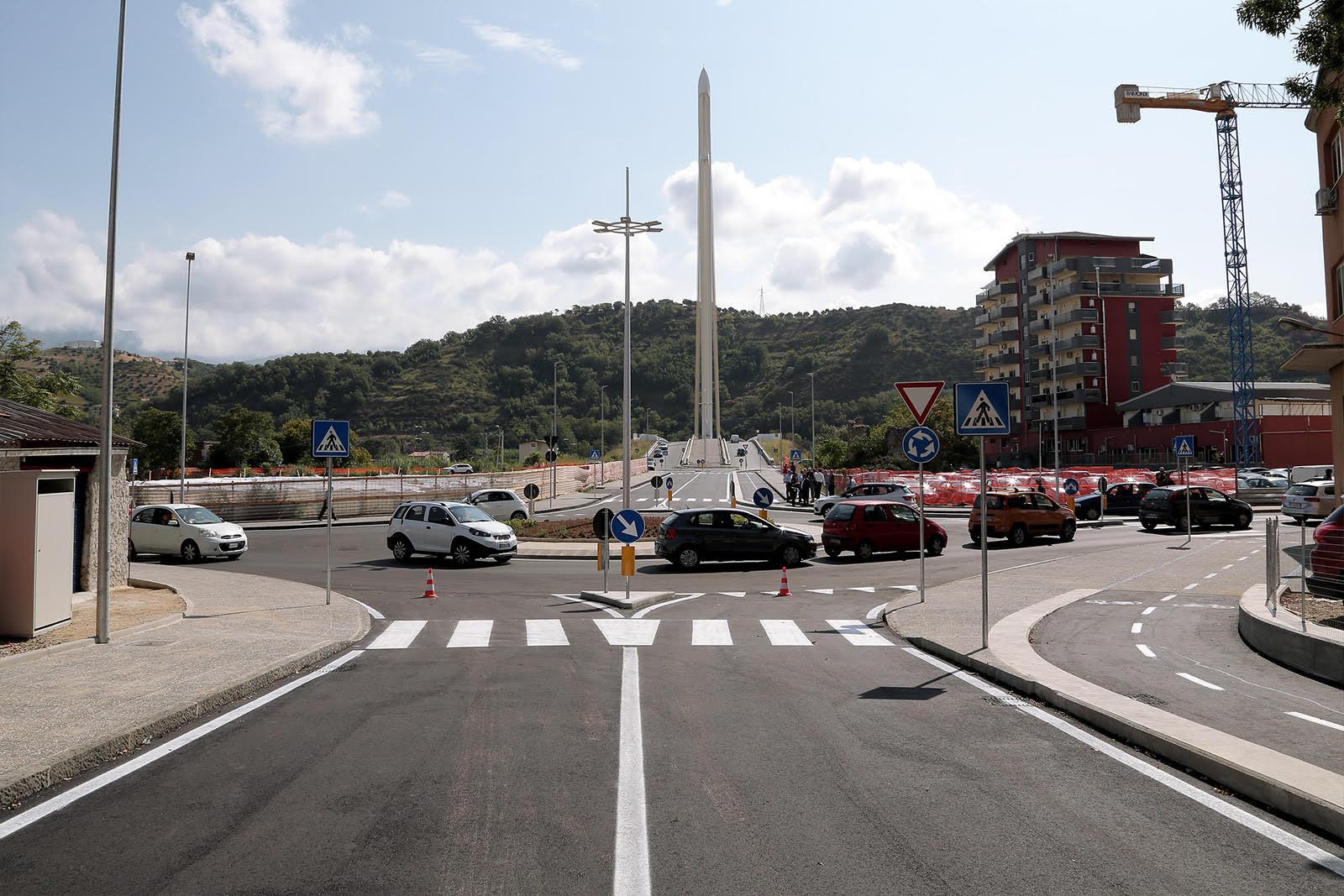 Cosenza, aperto snodo traffico tra Ponte Calatrava e Via Popilia
